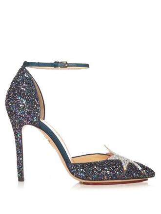 glitter princess pumps shoes