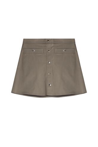 skirt mini grey