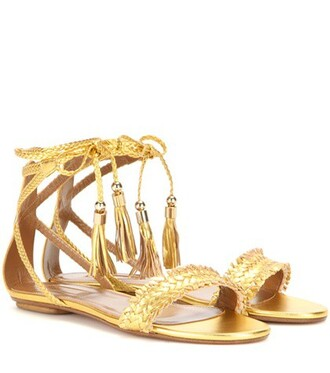 sun metallic sandals leather sandals leather gold shoes