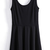 Black Scoop Neck Sleeveless Pleated Tank Dress - Sheinside.com