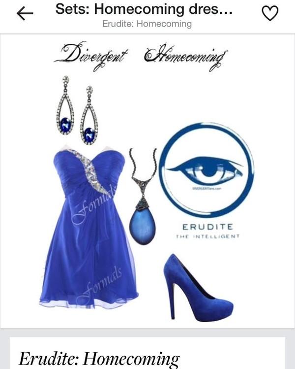 Dress, Blue, Nail Polish, Shoes, Jewels, Bag, Messenger