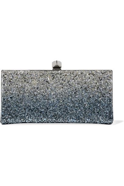 Jimmy Choo clutch blue bag