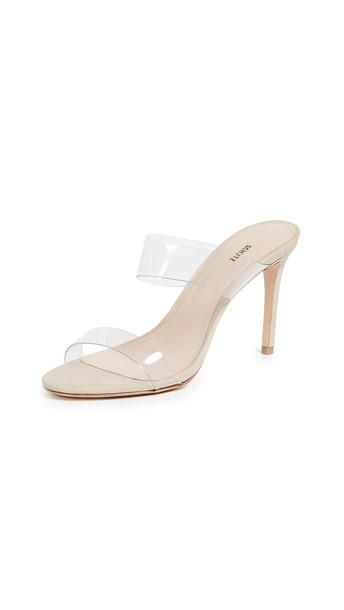 Schutz Ariella Strappy Sandals in transparent