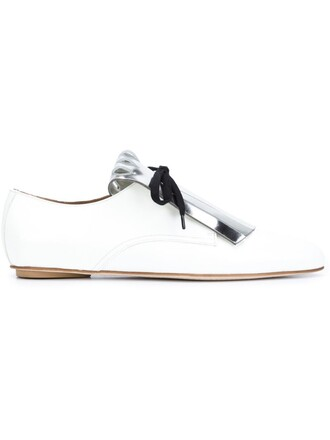 shoes lace-up shoes lace white