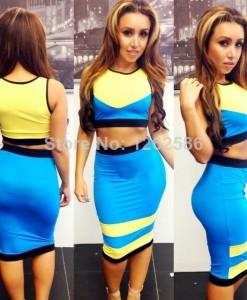 Charms Fashion Hot Sale Sex Star Loves Leopard Design Slim Hip Three Quater Knee Length Dress Plus Size For Choose | Amazing Shoes UK
