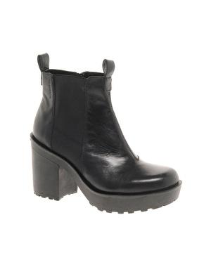 Vagabond libby heeled boots at asos