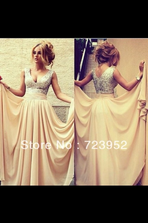 dress pink dress pink champagne dress prom dress long prom dress prom dress prom dress pretty gorgeous fashion bridesmaid cream sparkly dress beige beige dress long prom dress champagne prom dress