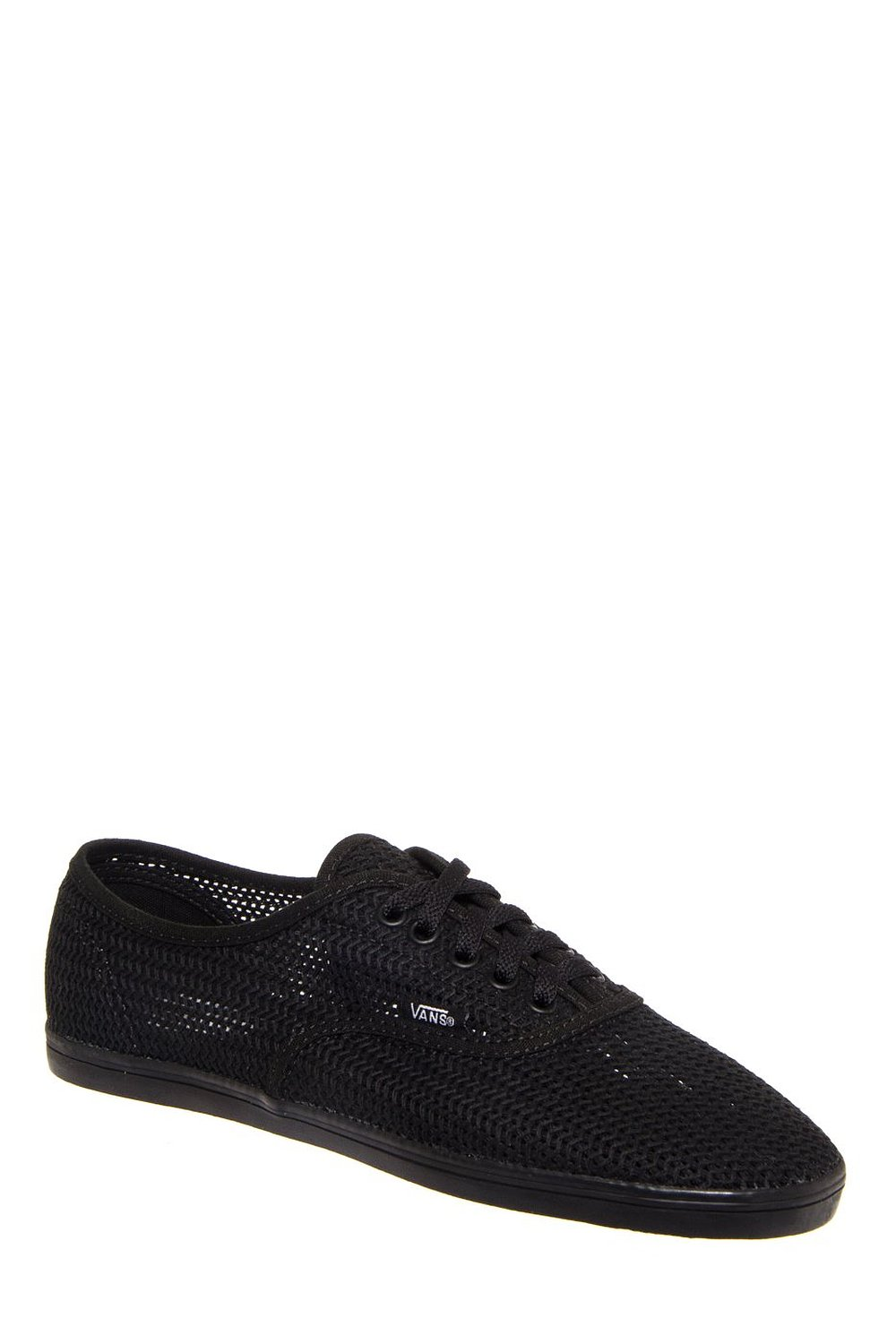 6e4793d498fae Amazon.com: Vans Unisex Ynez Binding Mesh Sneaker - Black: Shoes