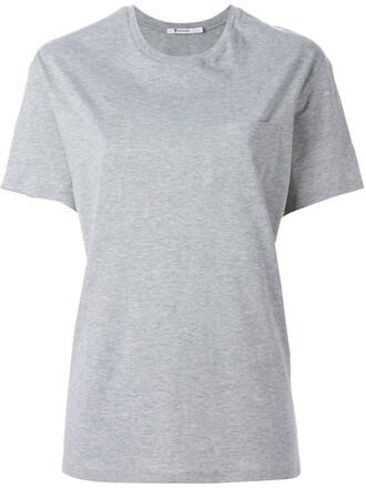 t-shirt shirt oversized t-shirt oversized grey top