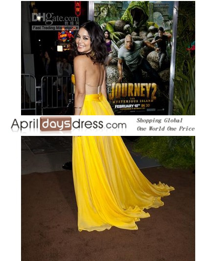 Custom made vanessa hudgens glamorous sexy a line sweetheart celebrity dress party evening gown at sag awards
