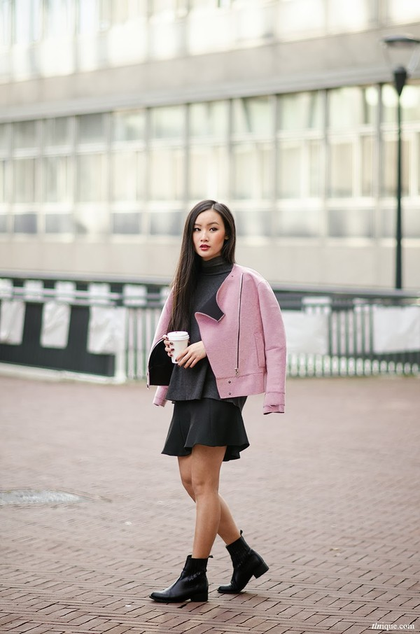tlnique jacket shoes skirt sweater