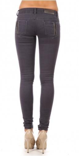 """Balmania """"the biker's girlfriend"""" side zippers jeans – glamzelle"""