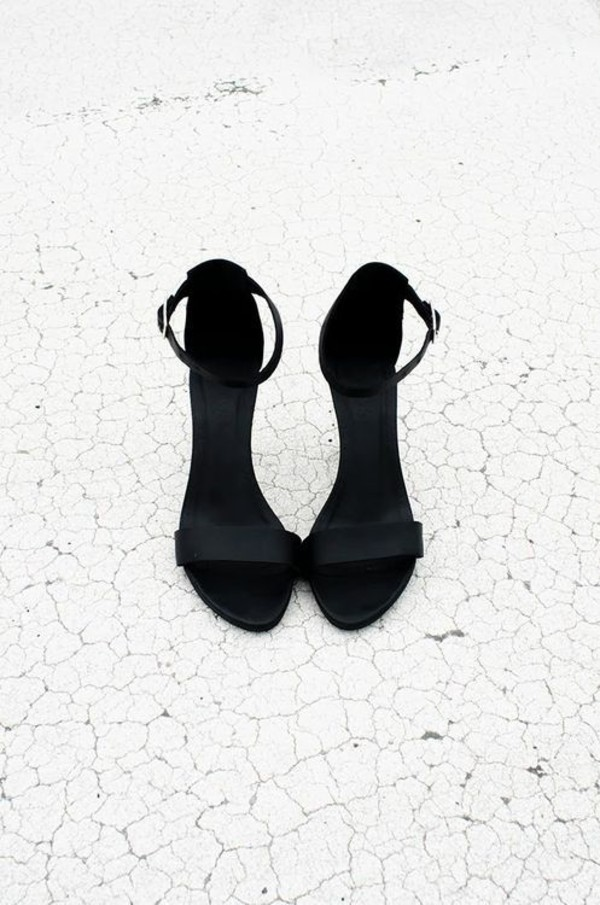 high heels sandals black sandals elegant minimalist shoes black shoes black minimalist ankle strap heels ankle strap shoes black heels heels high heel sandals