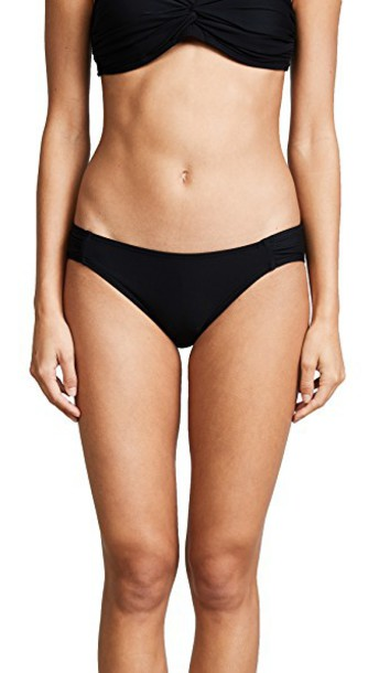 Kate Spade New York bikini bikini bottoms black swimwear