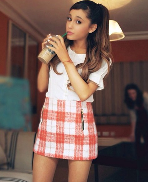 summer dress style ariana grande outfit fashion fall sweater