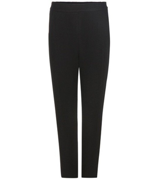 Vince Wool-blend Trousers in black
