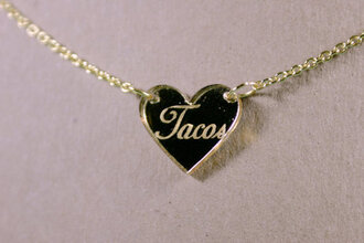 jewels gold necklace word necklace necklace heart jewelry gold heart necklace