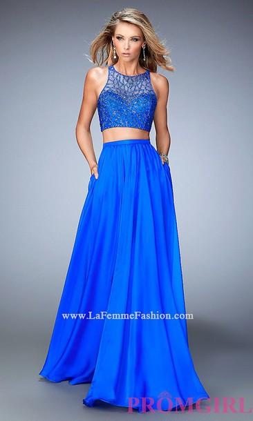 dress prom dress blue prom dress
