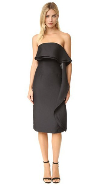 Keepsake Small Talk Dress - Black
