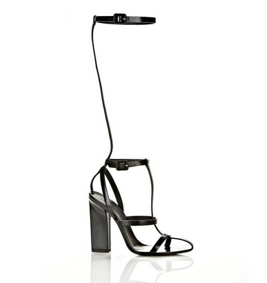 Sexy Gladiator Bandage Sandals White Black Knee High Platform Sandals Heels Boots