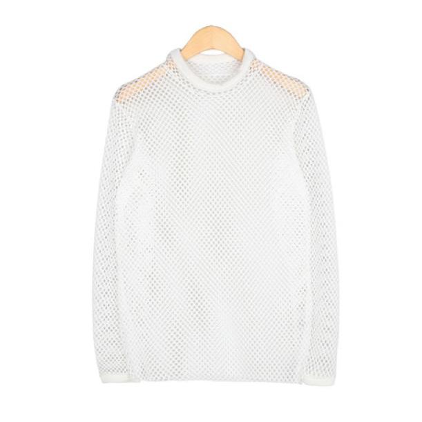 Mesh sweater / back order – holypink