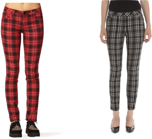 pants plaid