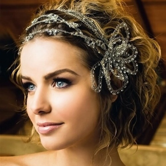 hair accessories headband wedding clothes