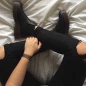 shoes,clothes,mens,fashion,black,boots,ankle boots,leather,leather boots,low herls,flat,cool,flat boots