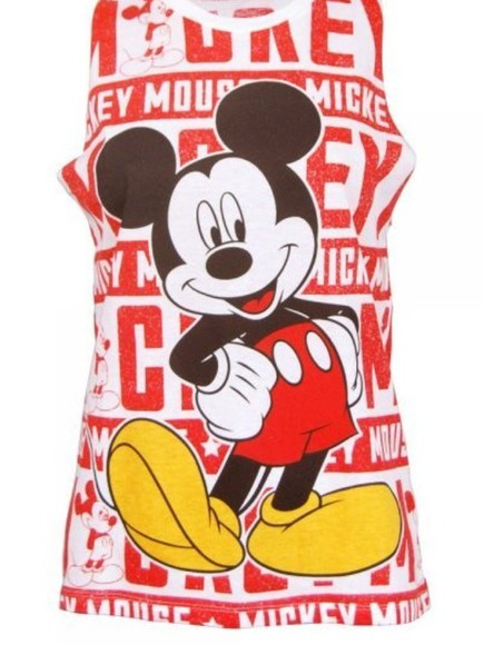 disney top mickey mouse quote on it