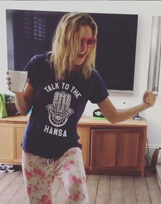 top t-shirt kate hudson instagram