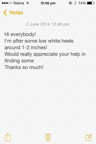 shoes white white shoes low heels heels low shoes low white shoes