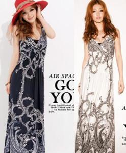 Fashion summer loose plus size black big o-neck elastic short-sleeve slim hip one-piece dress | Amazing Shoes UK