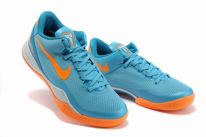 Nike Kobe Viii Men Basketball Shoes New Colorways Baltic Blue Neo Turquoise Windchill Bright Citrus