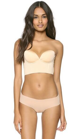 bra strapless back nude underwear