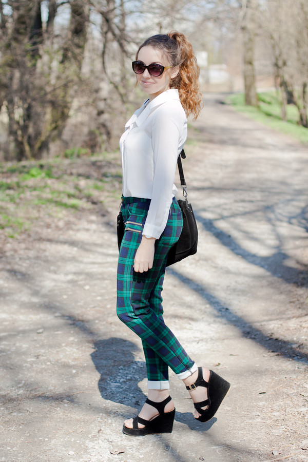 kolorowa dusza shirt pants bag jewels sunglasses shoes