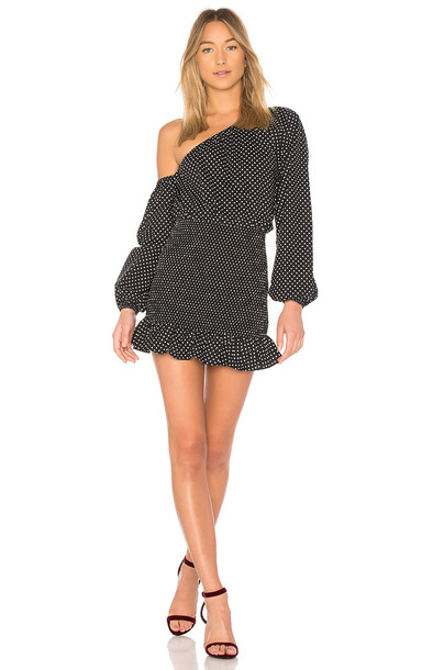 TULAROSA dress black