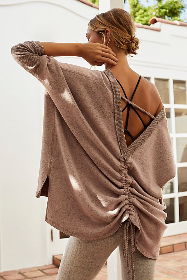 Slight Chill Cinched Layering Top by Free People