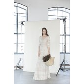 dress,trainers,long sleeves,sweep train and one -shoulder dress,embroidery wedding dresses