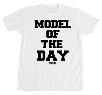 model t-shirt model of the day diabolical rabbit