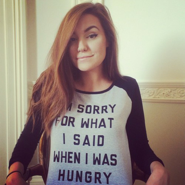t-shirt cutiepiemarzia youtube youtuber funny im sorry for what i said wen i was hungry pewdiepie shirt cool