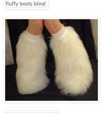 shoes fluffy boots withe warm