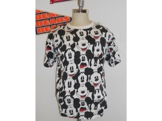 shirt mickey mouse t-shirt faces