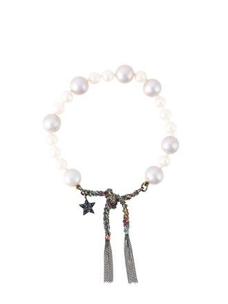 pearl gold black white jewels