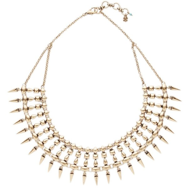 Lucky Brand Spike Collar Necklace - Polyvore