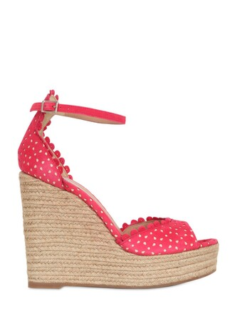 sandals wedge sandals lace leather coral shoes