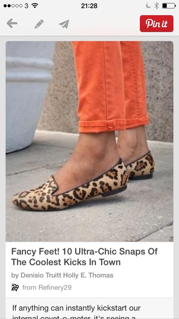 shoes leopard print