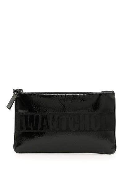 Jimmy Choo clutch black bag
