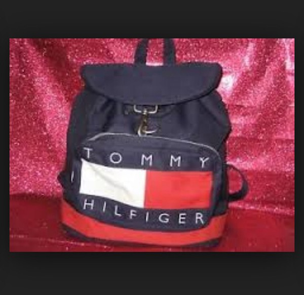 bag tommy hilfiger backpack swag