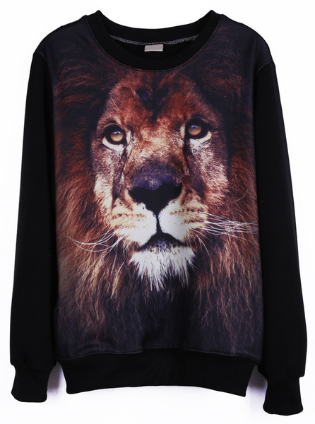 Lion Close Up Pullover | Outfit Made