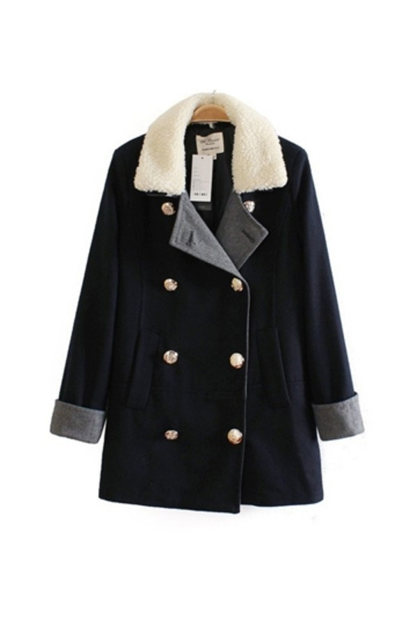 coat persunmall black coat